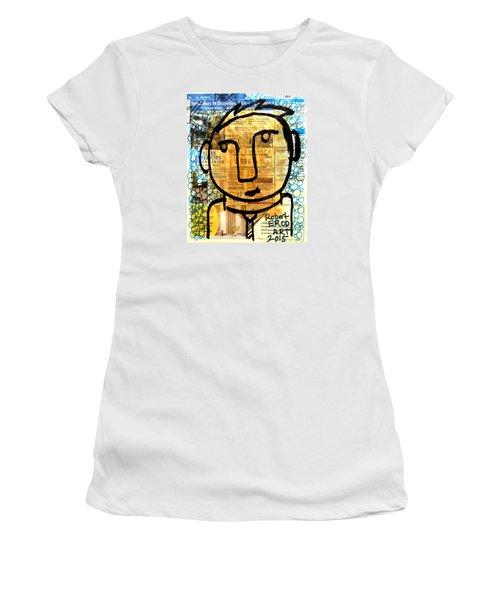 Gold Boy Draftsmen Women's T-Shirt