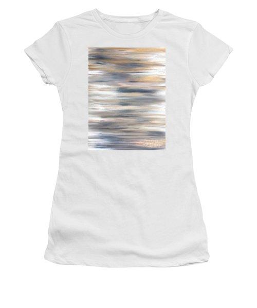 Gold Coast #21 Landscape Original Fine Art Acrylic On Canvas Women's T-Shirt (Athletic Fit)