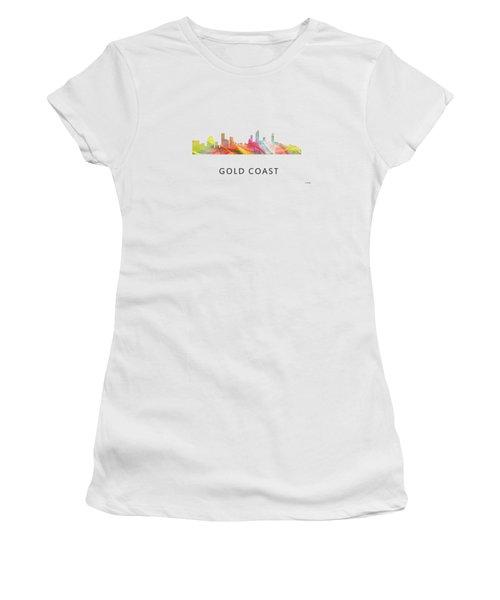 Gold Coast Australia Skyline  Women's T-Shirt