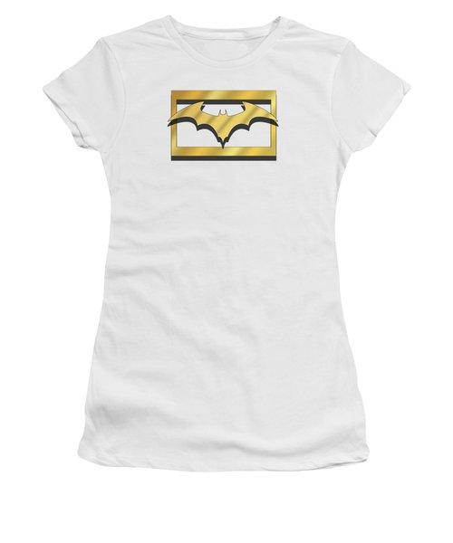 Golden Bat Women's T-Shirt (Athletic Fit)