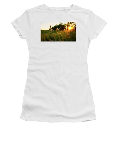 Golden Glow Women's T-Shirt