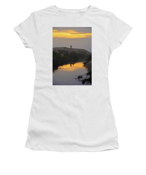 Golden Moments Women's T-Shirt (Junior Cut) by Deprise Brescia
