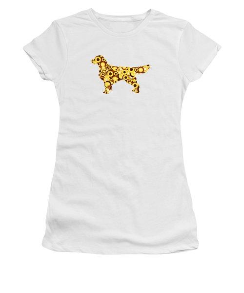 Golden Retriever - Animal Art Women's T-Shirt