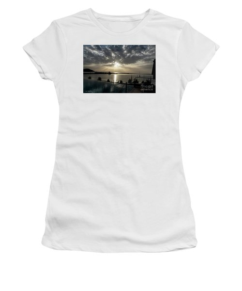 Good Morning Vacation Women's T-Shirt (Athletic Fit)