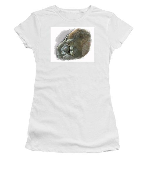 Gorilla Mother Women's T-Shirt