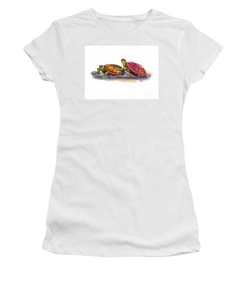Spring Turtles Women's T-Shirt