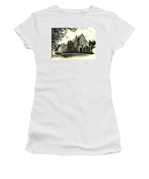 Gothic City Street  Women's T-Shirt