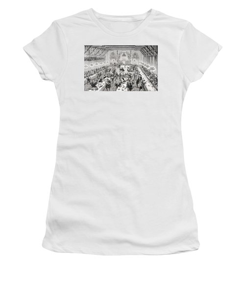 Grand Ceremonial Banquet At The French Women's T-Shirt