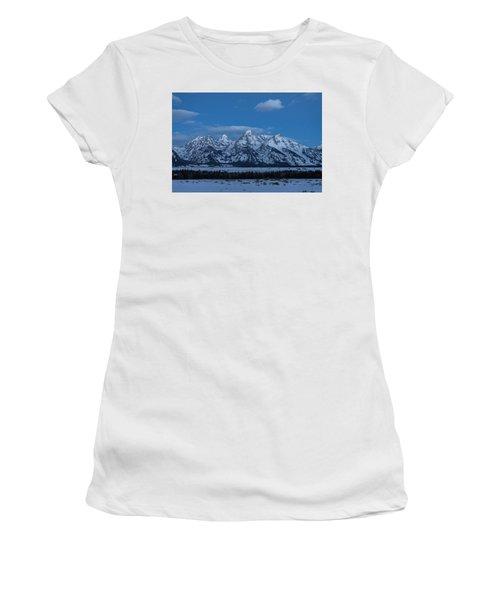 Grand Teton National Park Sunrise Women's T-Shirt (Athletic Fit)