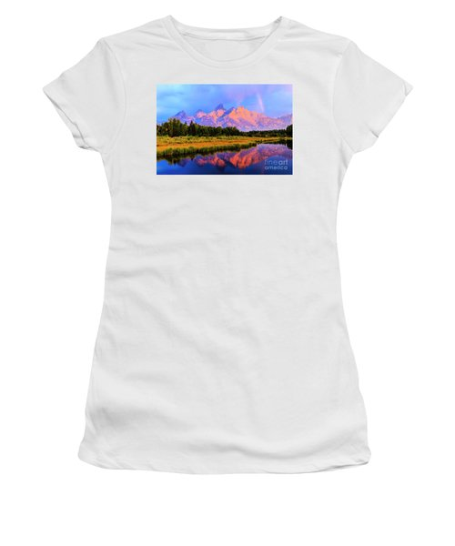 Grand Teton Sunrise Women's T-Shirt