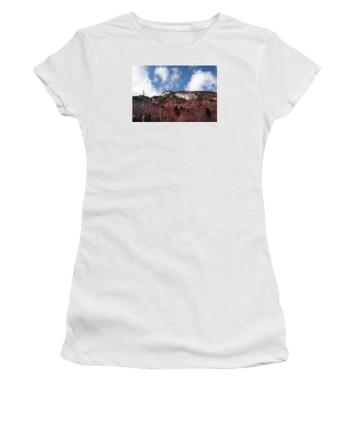 Grandfather Mountain East Side Women's T-Shirt (Athletic Fit)