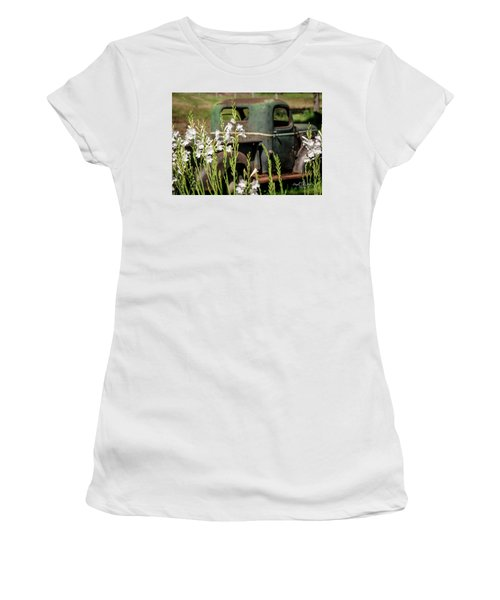 Grandpa's Truck Women's T-Shirt (Athletic Fit)