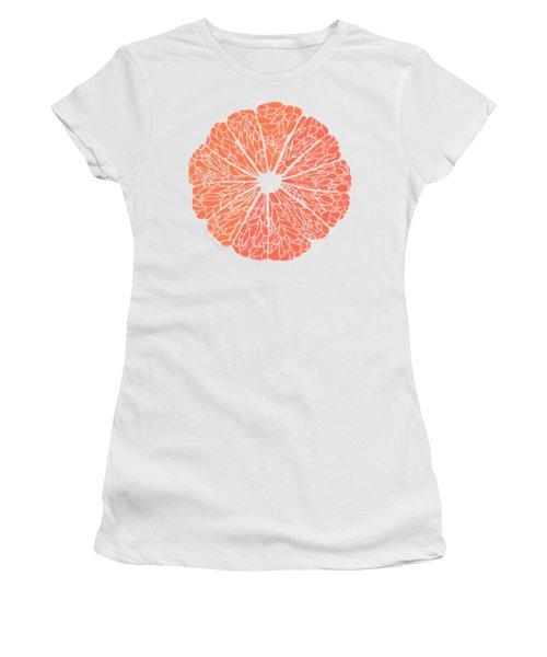 Grapefruit To Suit Women's T-Shirt (Athletic Fit)