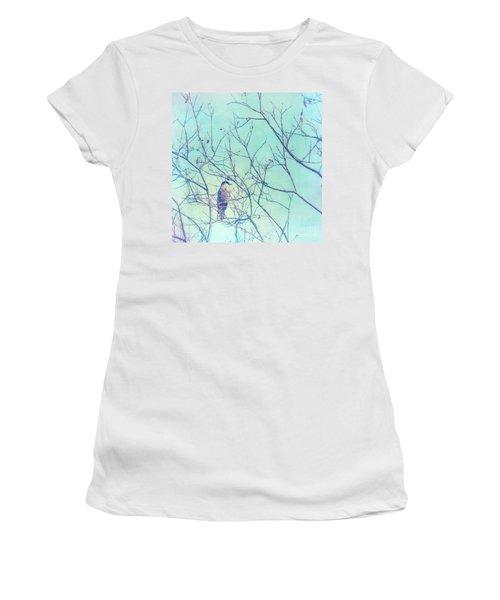 Gray Jay In A Tree Women's T-Shirt