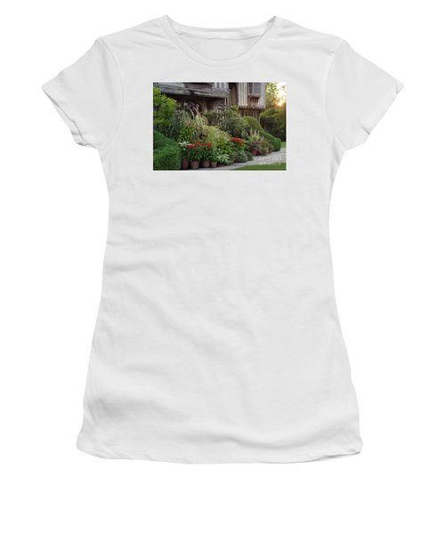 Great Dixter House And Gardens At Sunset 2 Women's T-Shirt (Athletic Fit)