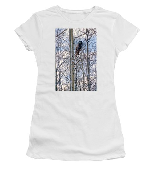 Great Grey Owl Women's T-Shirt