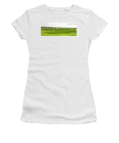 Green Fields. Women's T-Shirt