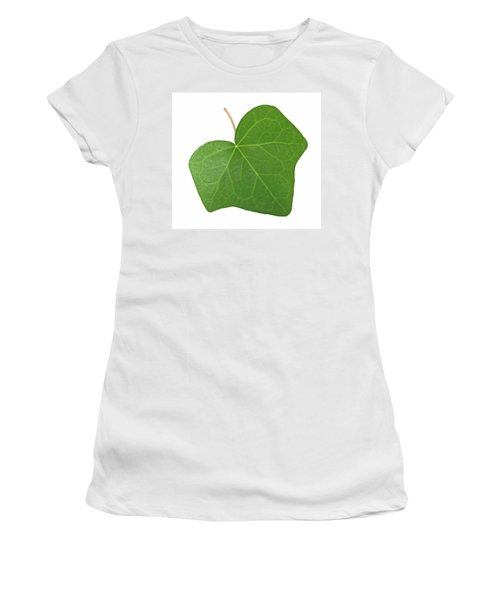 Green Ivy Leaf Women's T-Shirt (Junior Cut)