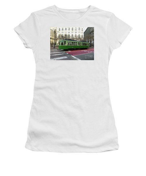 Green Trolley Women's T-Shirt
