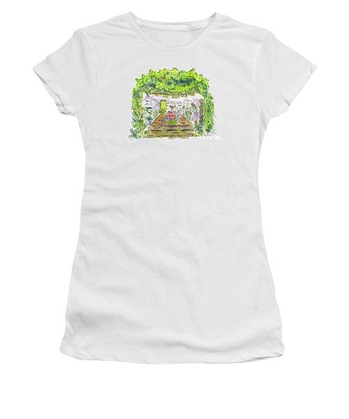 Greenhouse To Volcano Garden Arts Women's T-Shirt