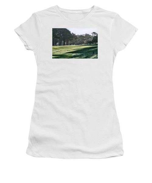 Greens Golf Harding Park San Francisco  Women's T-Shirt