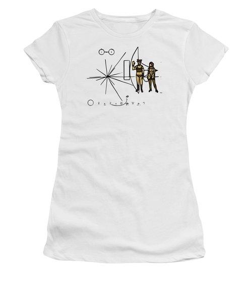 Greetings From Xxi Century Women's T-Shirt