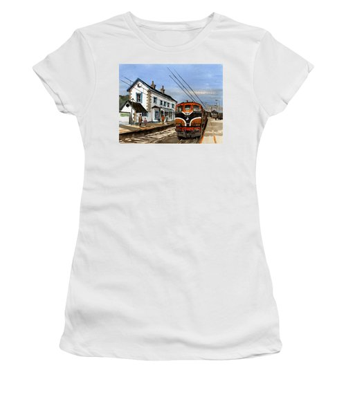 Greystones Railway Station Wicklow Women's T-Shirt (Athletic Fit)