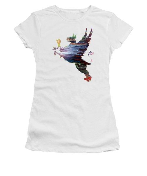 Griffon Women's T-Shirt (Junior Cut) by Mordax Furittus