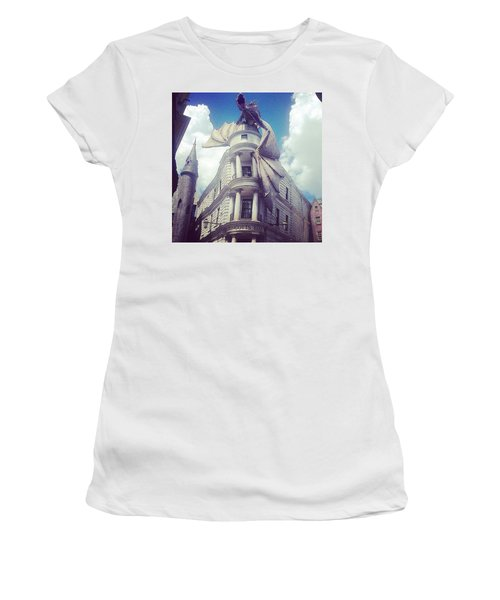 Gringotts  Women's T-Shirt (Junior Cut) by Kate Arsenault