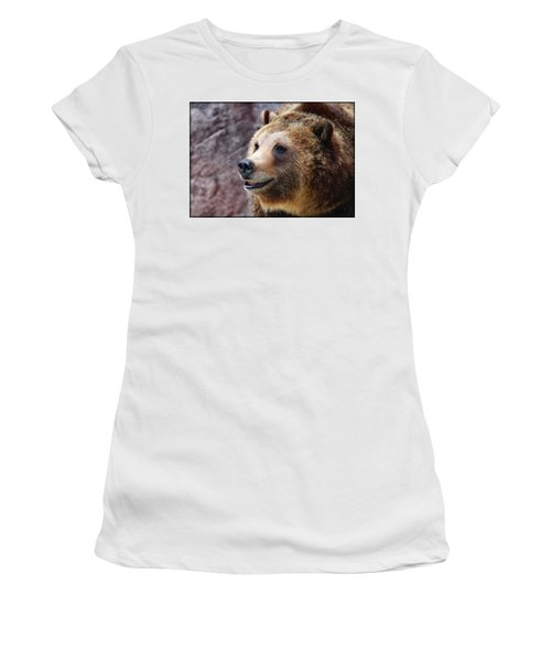 Grizzly Smile Women's T-Shirt (Athletic Fit)