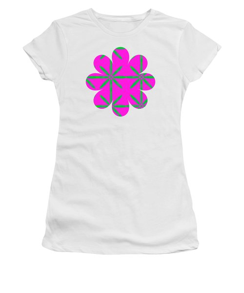 Groovy Flowers Women's T-Shirt