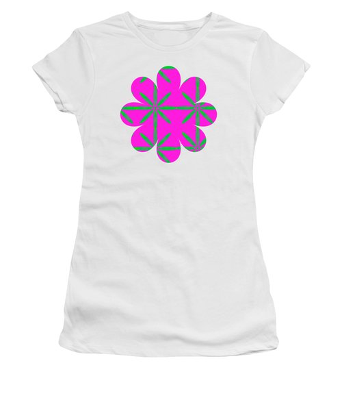 Groovy Flowers Women's T-Shirt