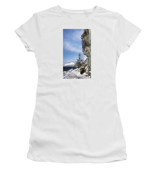 Gulls Of Winter Women's T-Shirt (Athletic Fit)