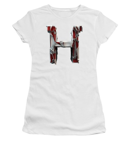 Women's T-Shirt featuring the photograph H Is For Horse by Gary Keesler