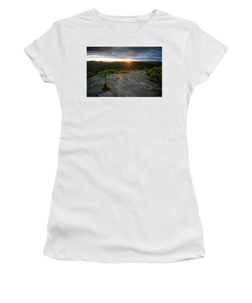 Hadley Mountain Sunset Women's T-Shirt