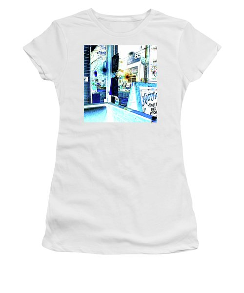 Haight Street San Francisco From 1428 Women's T-Shirt (Athletic Fit)