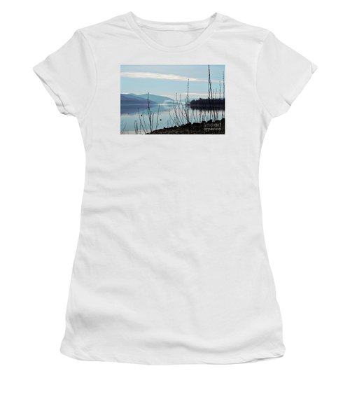 Women's T-Shirt (Junior Cut) featuring the photograph Halo On Copper Island by Victor K