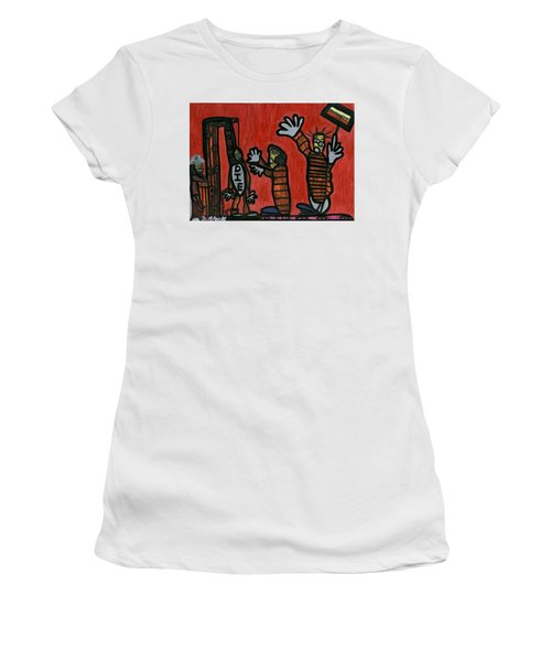 Halt The Execution Women's T-Shirt (Junior Cut) by Darrell Black