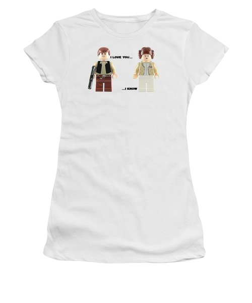 Han And Leia  Women's T-Shirt