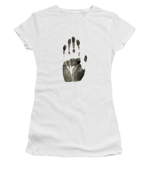 Handprint Phone Case Women's T-Shirt
