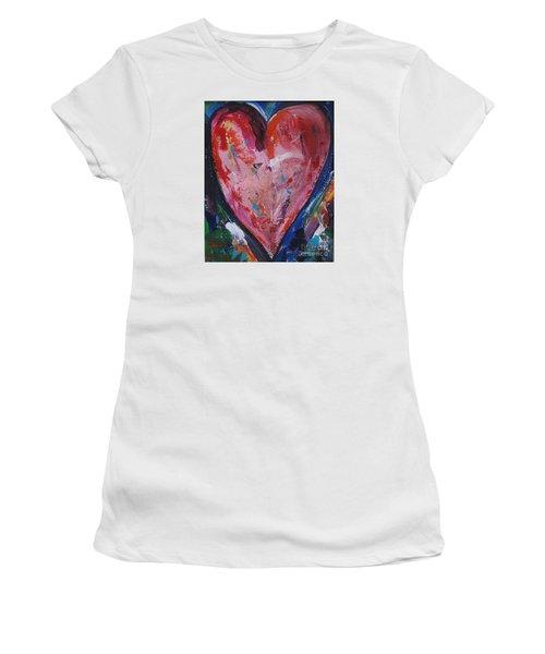 Happiness Women's T-Shirt (Junior Cut) by Diana Bursztein