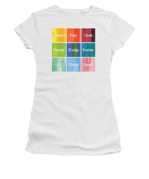 Happy 9 In 1 Women's T-Shirt