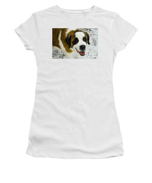 Happy Tank Women's T-Shirt (Athletic Fit)
