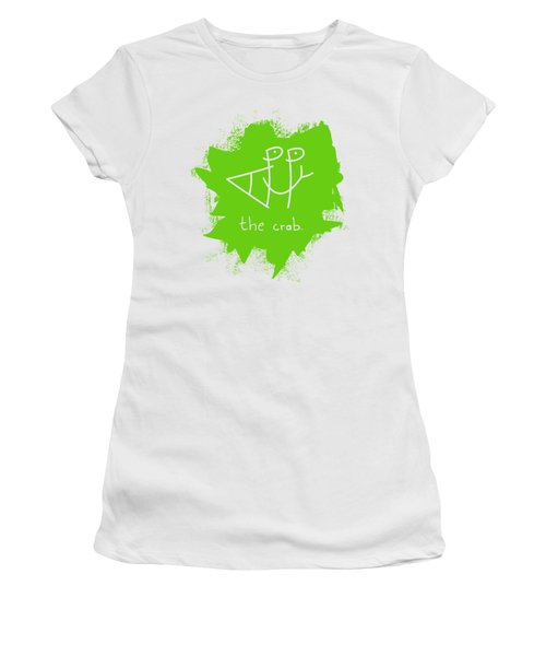 Happy The Crab - Green Women's T-Shirt