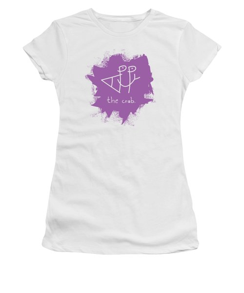 Happy The Crab - Purple Women's T-Shirt
