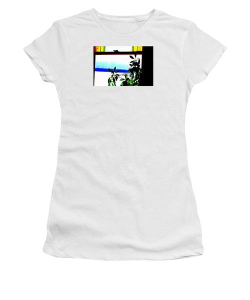 Harbor Side Window Women's T-Shirt