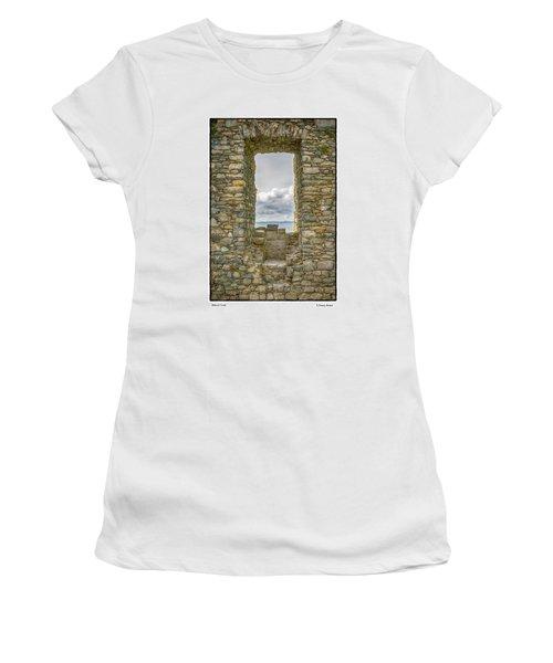Harlech Cloud Women's T-Shirt (Junior Cut) by R Thomas Berner
