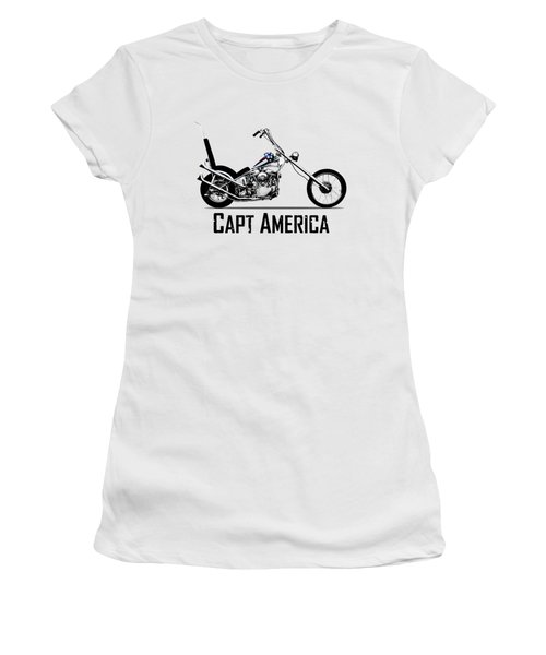 Harley Captain America Women's T-Shirt