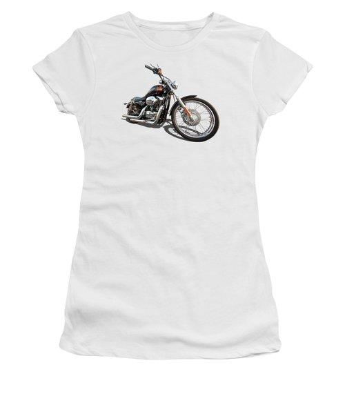 Harley Sportster Xl1200 Custom Women's T-Shirt (Junior Cut) by Gill Billington