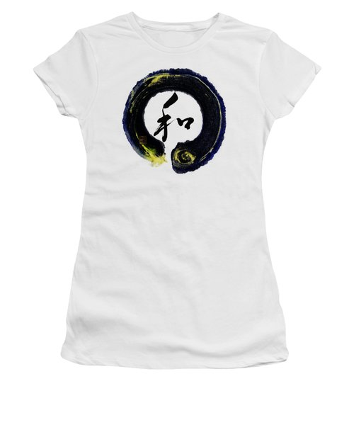 Harmony - Peace With Enso Women's T-Shirt